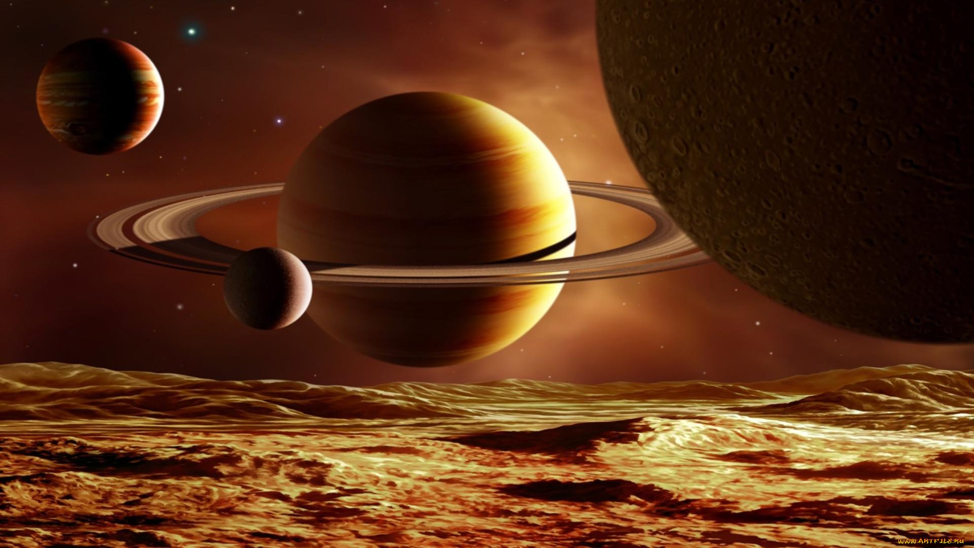 Смотреть картинки с планетами